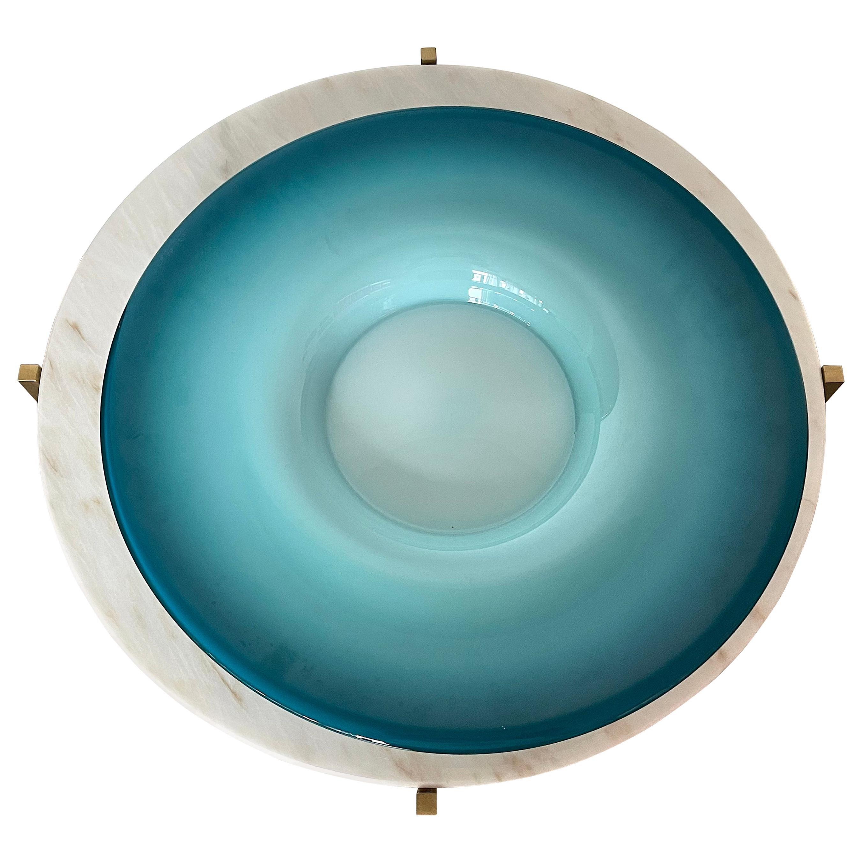 1960's Italian Decorative Centerpiece Plate