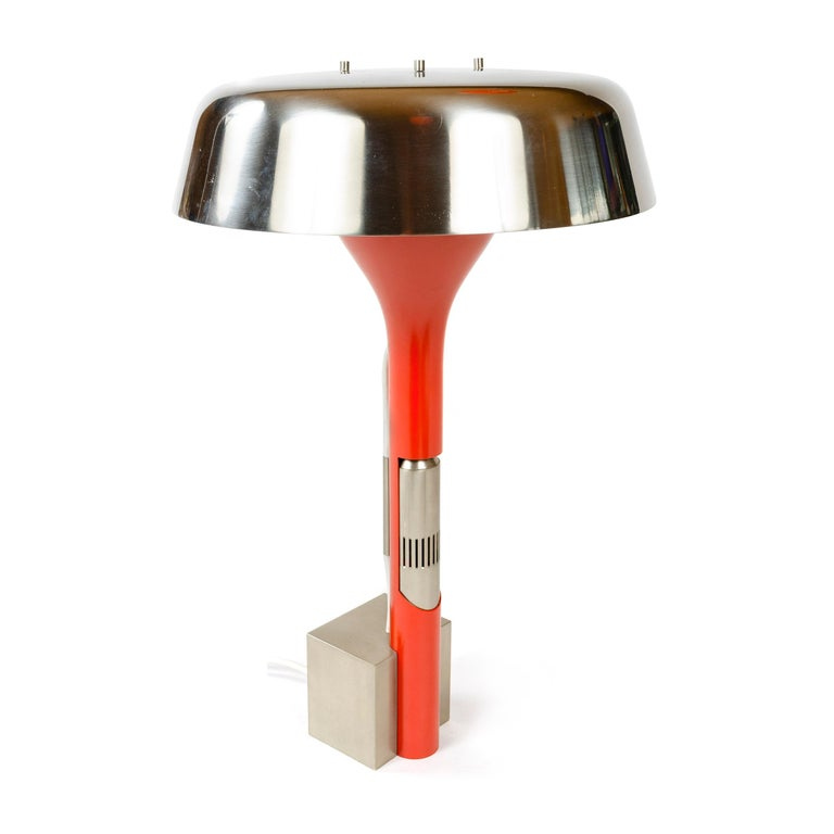 Metal 1960s Italian Desk Lamp by Angelo Lelli for Arredoluce For Sale