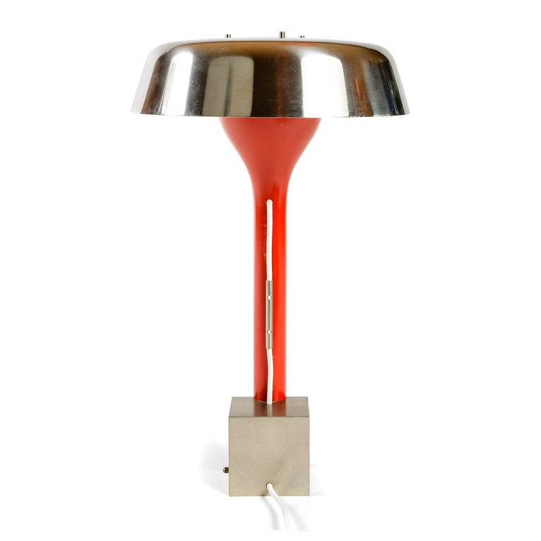 1960s Italian Desk Lamp by Angelo Lelli for Arredoluce For Sale 1