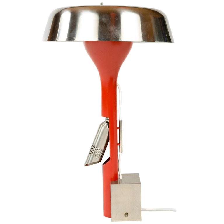 1960s Italian Desk Lamp by Angelo Lelli for Arredoluce For Sale