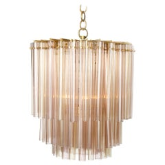 1960s Italian Glass Chandelier by Venini