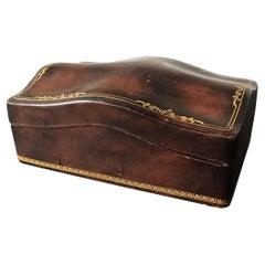 1960s Italian Leather Box