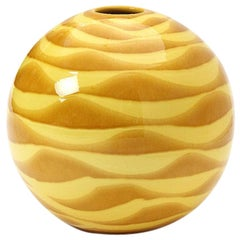 1960s Italian Spherical Vase by Inarco