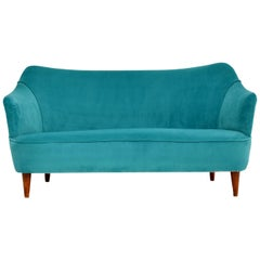 1960s Italian Vintage Cocktail Sofa or Loveseat