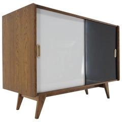 1960s Jiri Jiroutek Upcycled Sideboard, Czechoslovakia