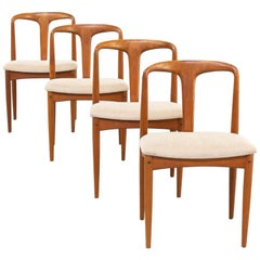 1960s Johannes Andersen 'Juliane' Chair for Uldum Set of 4