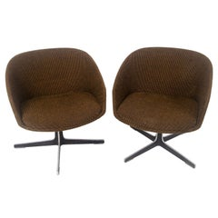 1960s John Yellen Swivel Chairs by I.V. Chair Corp.