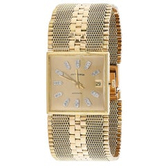 Juvenia Yellow Gold Depose Automatic Wristwatch, 1960s