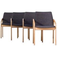 1960s Kai Kristiansen Reupholstered Armchairs for Korup Stolefabrik
