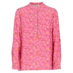 1960s Ken Scott Floral Print Shirt
