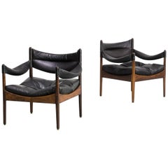 1960s Kristian Solmer Vedel Lounge Chairs for Søren Willadsen Set of 2