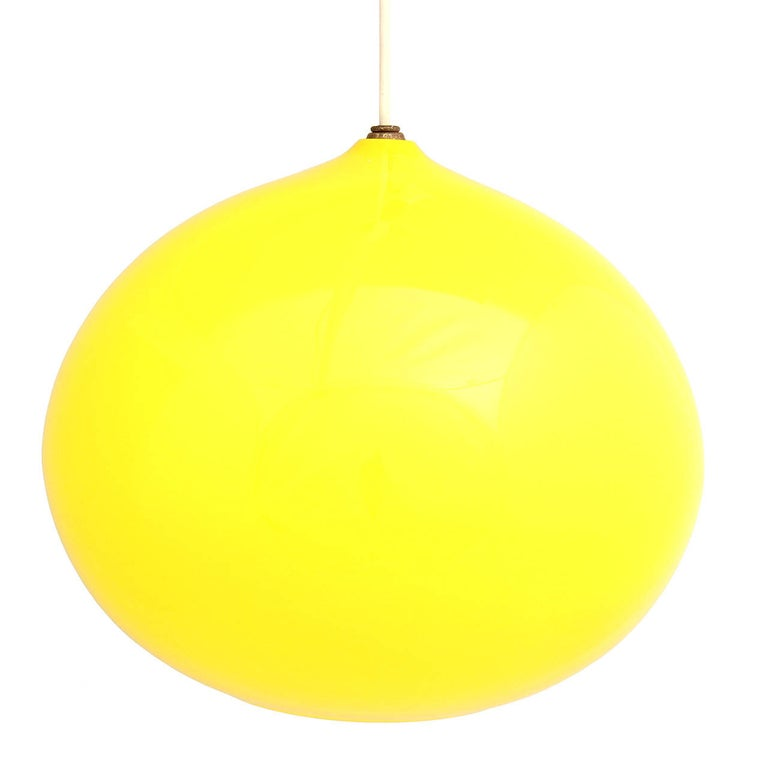 Glass 1960s L51 Hanging Lights by Alessandro Pianon for Vistosi For Sale