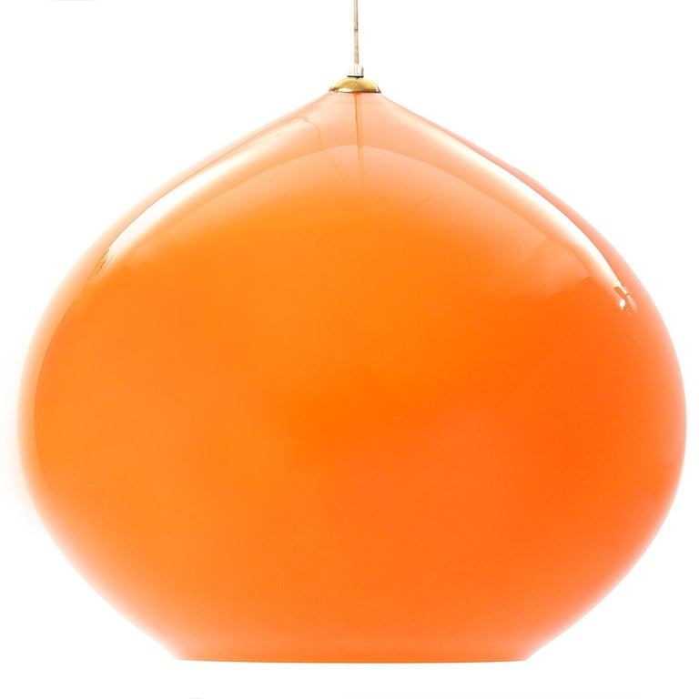 1960s L51 Hanging Lights by Alessandro Pianon for Vistosi For Sale 1