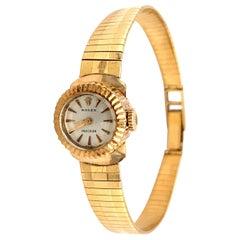 1960s Ladies Rolex Wristwatch, 18 Karat Yellow Gold