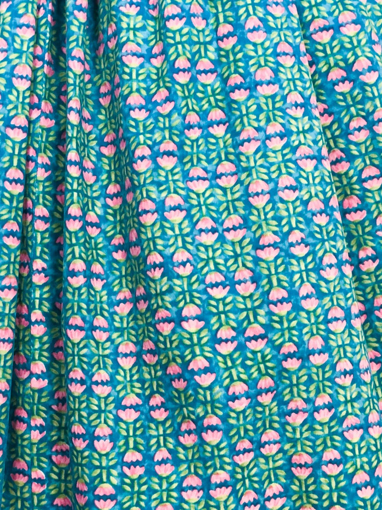 1960s Lanz Tulip Printed Summer Dress For Sale 1