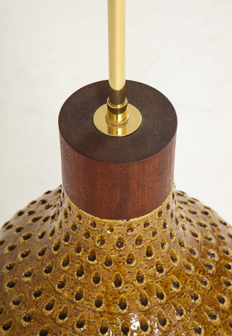 1960s Large Table Lamp by Raymor For Sale 6