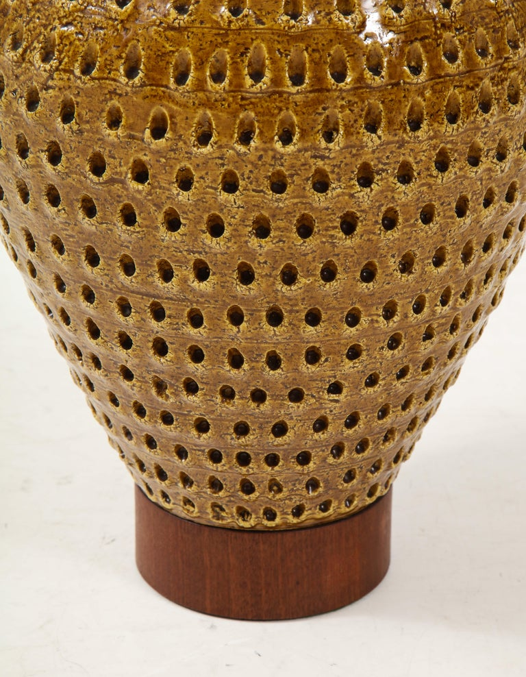 1960s Large Table Lamp by Raymor For Sale 1