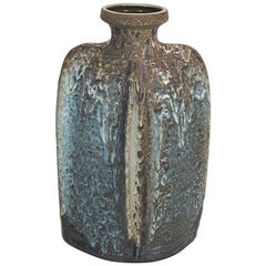 1960s Large West German Pottery Vase by Carstens Tonnieshof Luxus