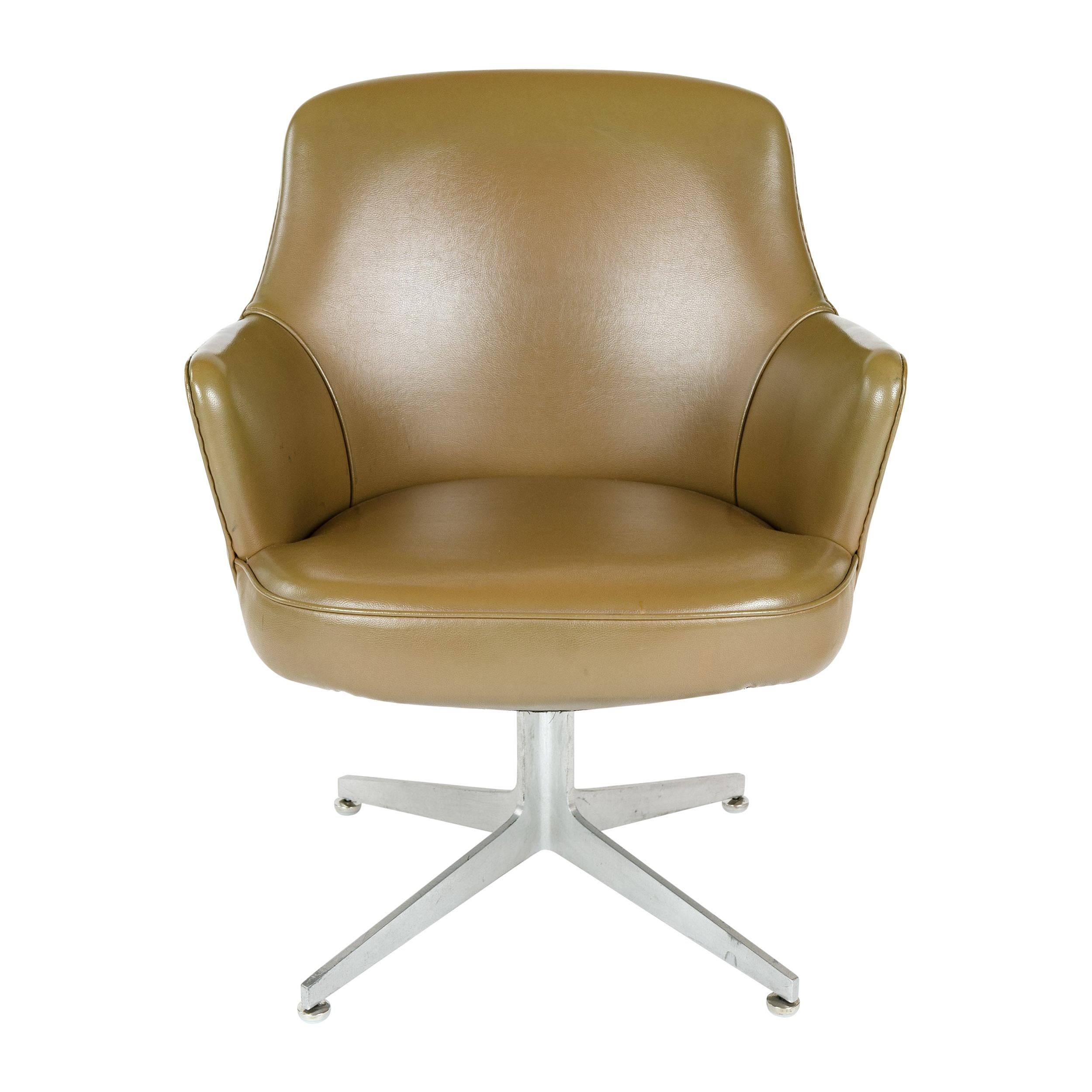 1960s Desk Chair by Ward Bennett