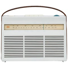 1960s Light Beige Portable Radio by Dieter Rams, Made in Germany