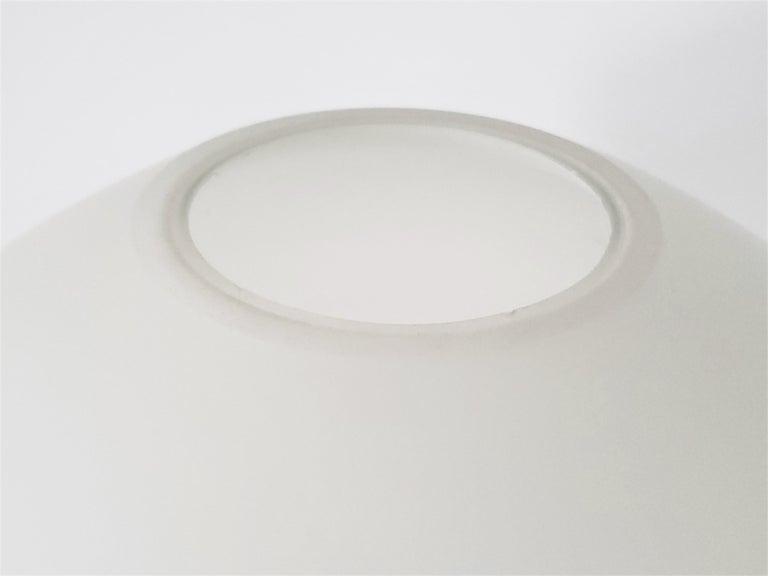 1960s Lisa Johansson-Pape Matte Opale Glass Table Lamp, Finland For Sale 1
