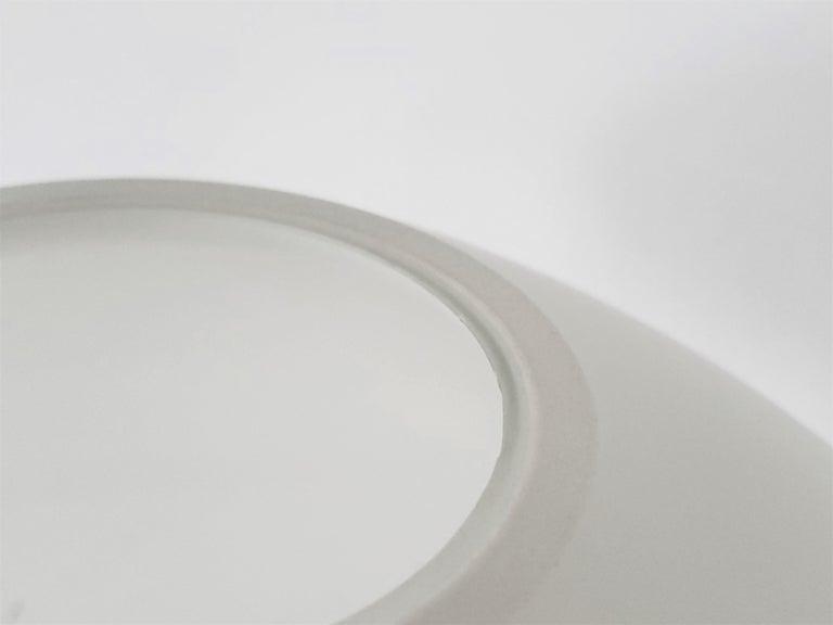 1960s Lisa Johansson-Pape Matte Opale Glass Table Lamp, Finland For Sale 2