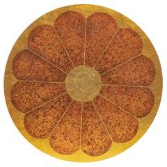 1960s Lotus Table by Theodore Muller & Isabel Barringer for Kittinger