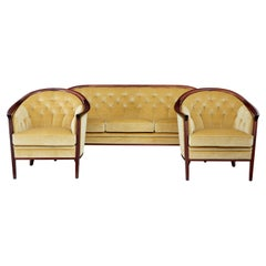 1960s Mahogany 3 Piece Suite by Bertil Fridhagen