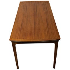 1960s Ole Wanscher Refinihed Mahogany Coffee Table by A.J. Iversen