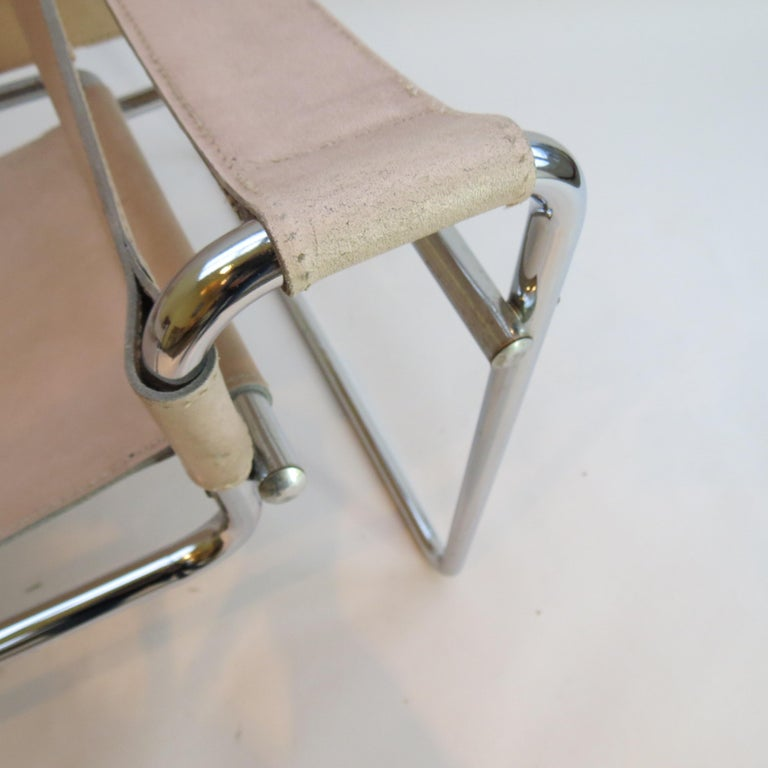 1960s Marcel Breuer B3 Wassily Chair by Gavina, Italy For Sale 1