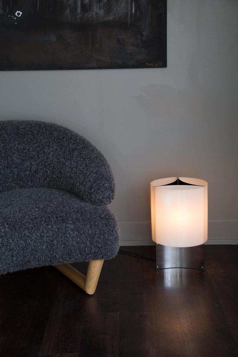 1960s Massimo Vignelli Model 526/g Table or Floor Lamp for Arteluce For Sale 1