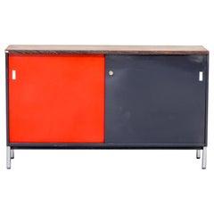 1960s Metal and Wengé Veneer Sideboard for Mauser Werke Waldeck