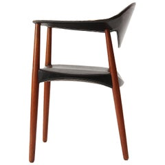 1960s Metropolitan Chair by Ejner Larsen and Aksel Bender Madsen for Willy Beck