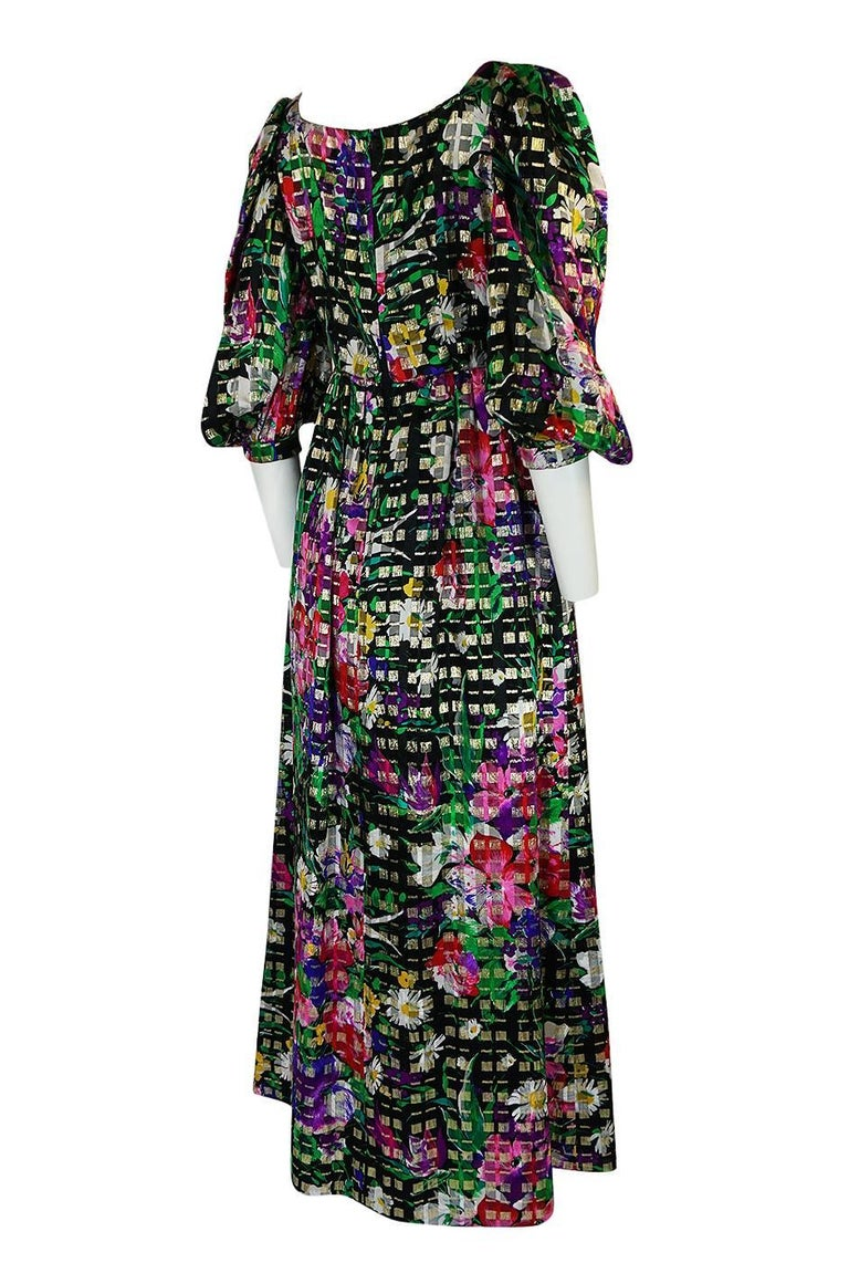 Michael Novarese designed gowns for many of the Hollywood scene including Jane Russell, Liza Minnelli, Judy Garland, Dinah Shore, Elizabeth Taylor and many others. His earlier pieces from the 1960s and seventies in particular are wonderful. As a