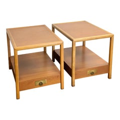 1960s Michael Taylor for Baker New World Collection Side Tables or Nightstands