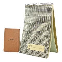 1960s Midcentury IBM THINK Notebook Office Ephemera Graphic Design Paul Rand