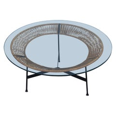 1960s Mid-Century Modern Coffee Table Attributed To Arthur Umanoff