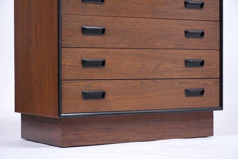 Vintage Mid-Century Modern Danish Dresser For Sale 2