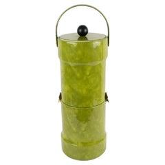 1960s Mid-Century Modern Extra Tall Barware Ice Bucket