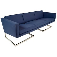1960s Mid-Century Modern Milo Baughman Style Sofa