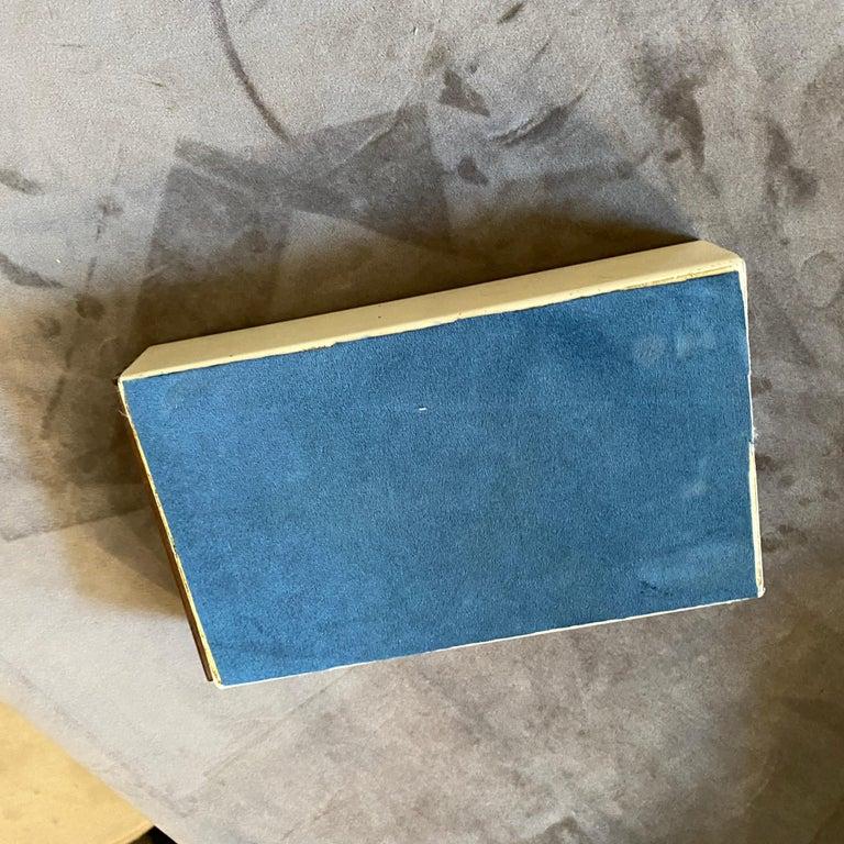Mahogany 1960s Mid-Century Modern Piero Fornasetti Cigarette Box For Sale