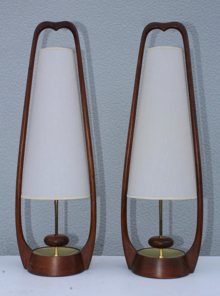 1960s Mid-Century Modern Table Lamps by Modeline For Sale 2