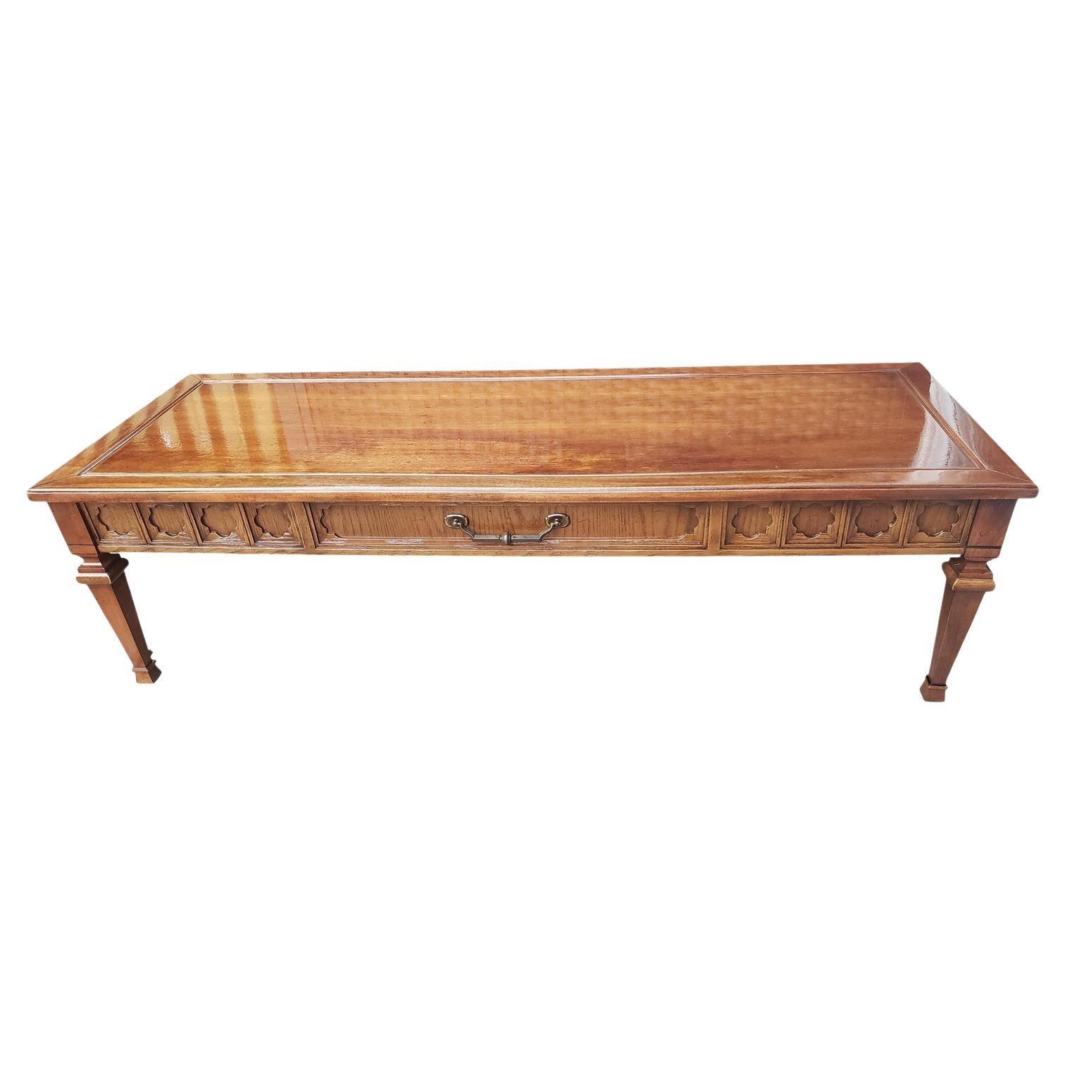 1960s Mid-Century Modern Walnut Coffee Table