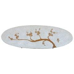 1960s Midcentury Mosaic Art Coffee Table
