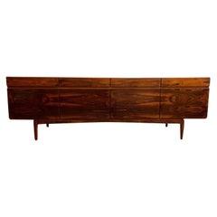 1960s Mid Century Rosewood Sideboard by Ib Kofod-Larsen for Faarup Møbelfabrik