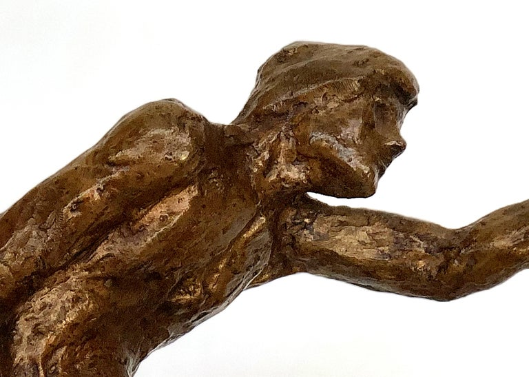 Mexican 1960s Midcentury Victor Salmones Bronze Sculpture For Sale