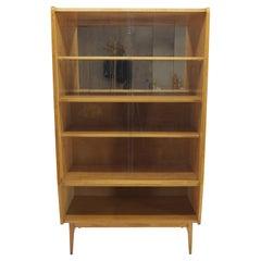 1960s, Midcentury Bookcase by František Mezulánik, Czechoslovakia