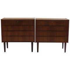 1960s Midcentury Danish Teak Chest of Drawers by Steens 2
