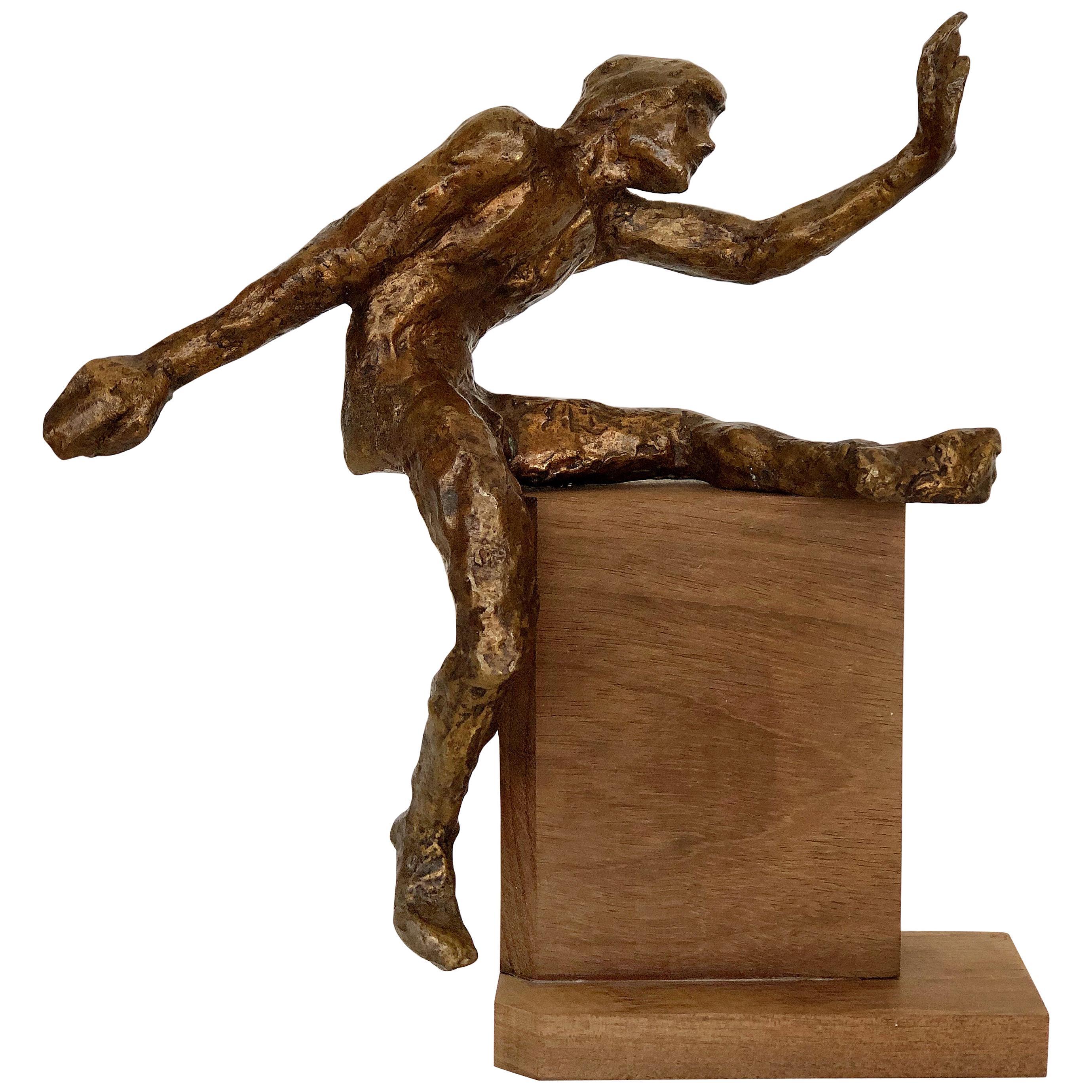 1960s Midcentury Victor Salmones Bronze Sculpture