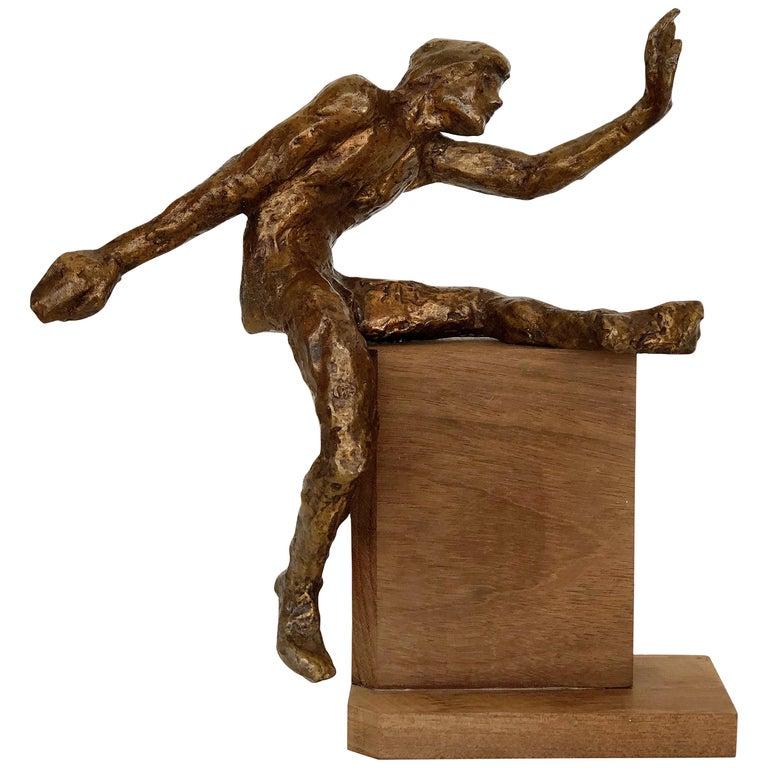 1960s Midcentury Victor Salmones Bronze Sculpture For Sale